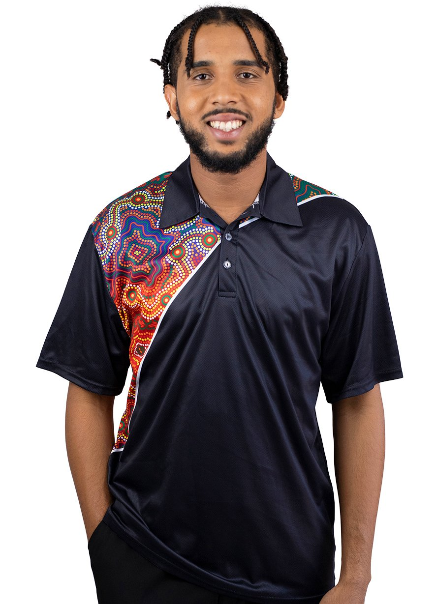 Mens Corporate Polo 13 - BW Tribal