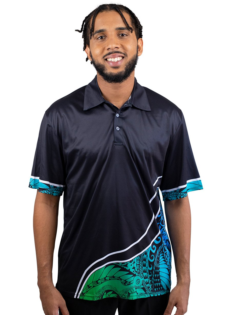 Mens Corporate Polo 10 - BW Tribal