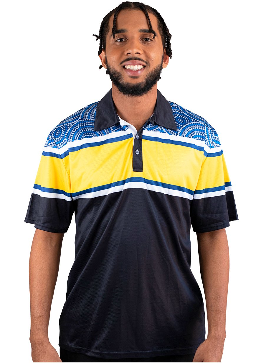 Mens Corporate Polo 27 - BW Tribal