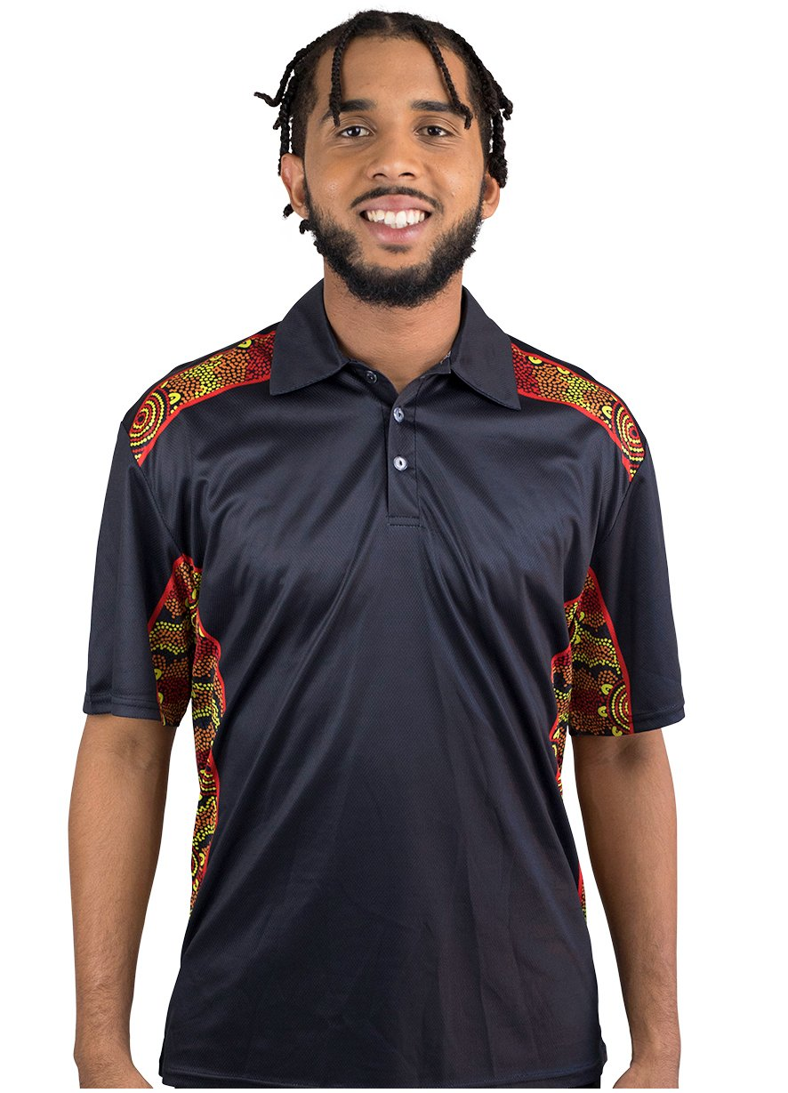 Mens Corporate Polo 16 - BW Tribal