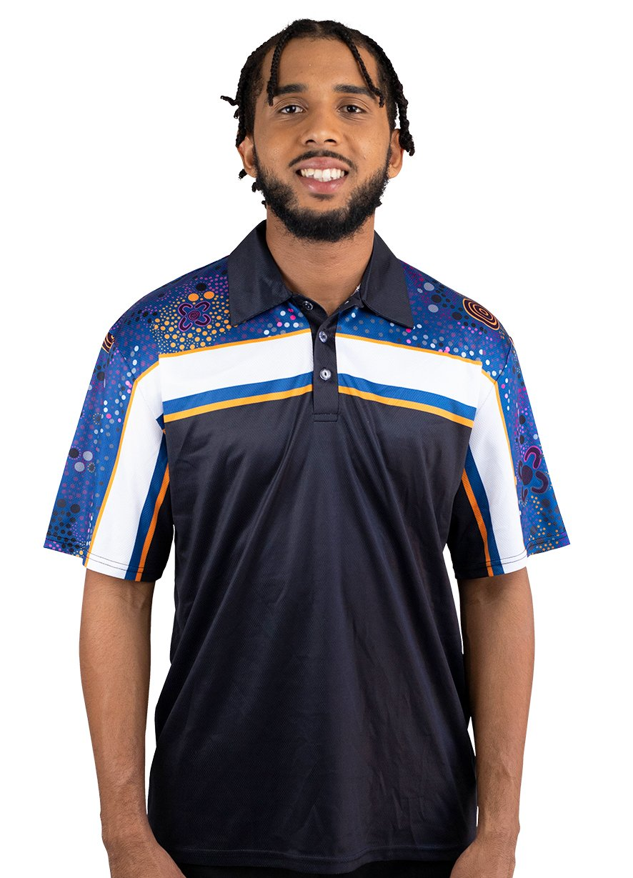 Mens Corporate Polo 4 - BW Tribal