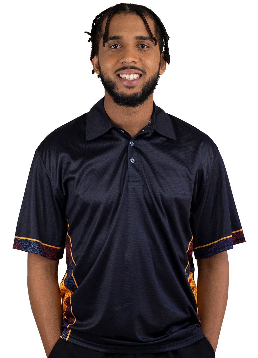 Mens Corporate Polo 8 - BW Tribal