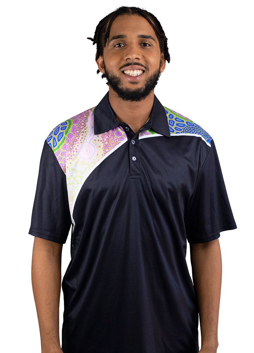 Mens Corporate Polo 3 - BW Tribal