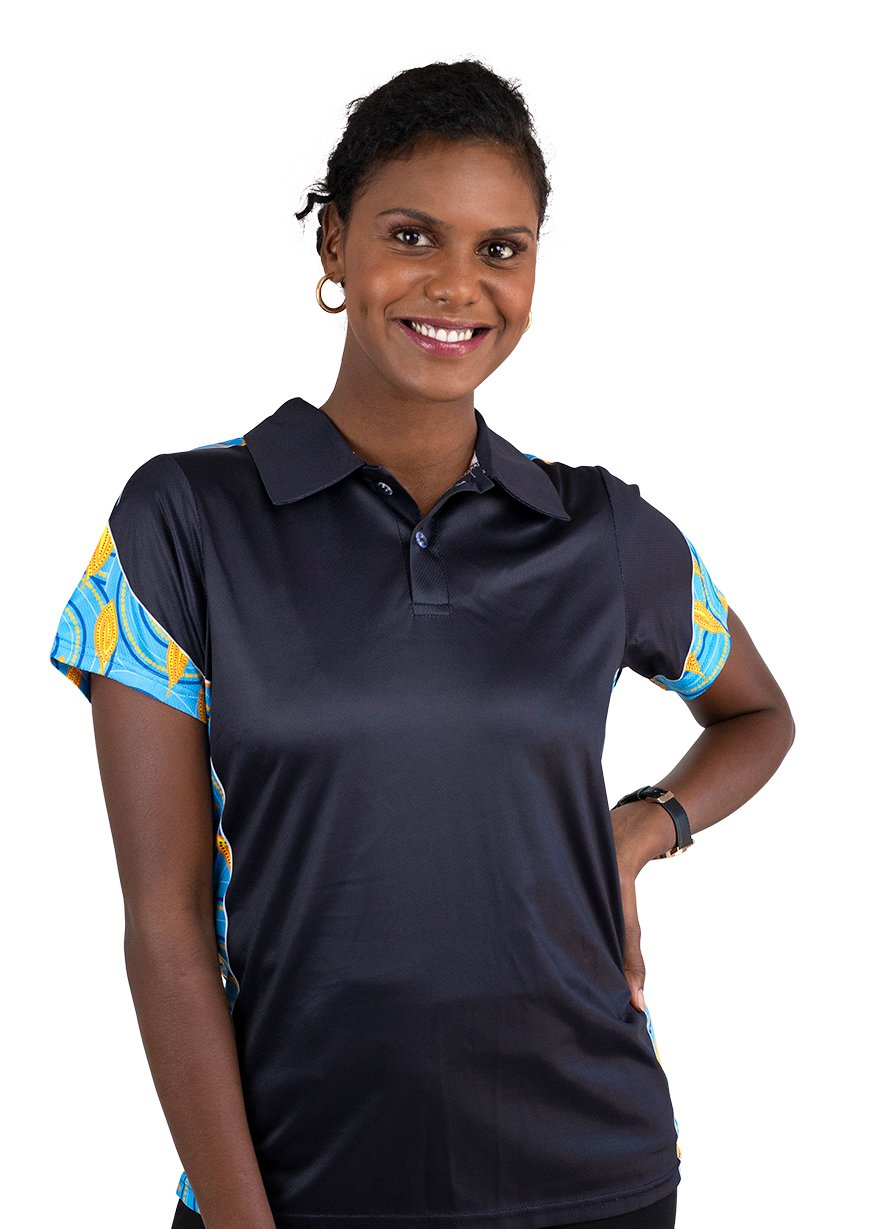 Womens Corporate Polo 22 - BW Tribal