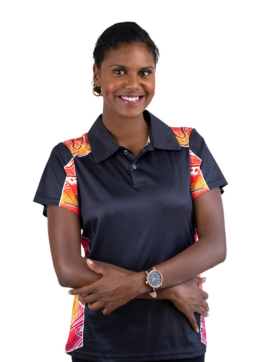 Womens Corporate Polo 2 - BW Tribal