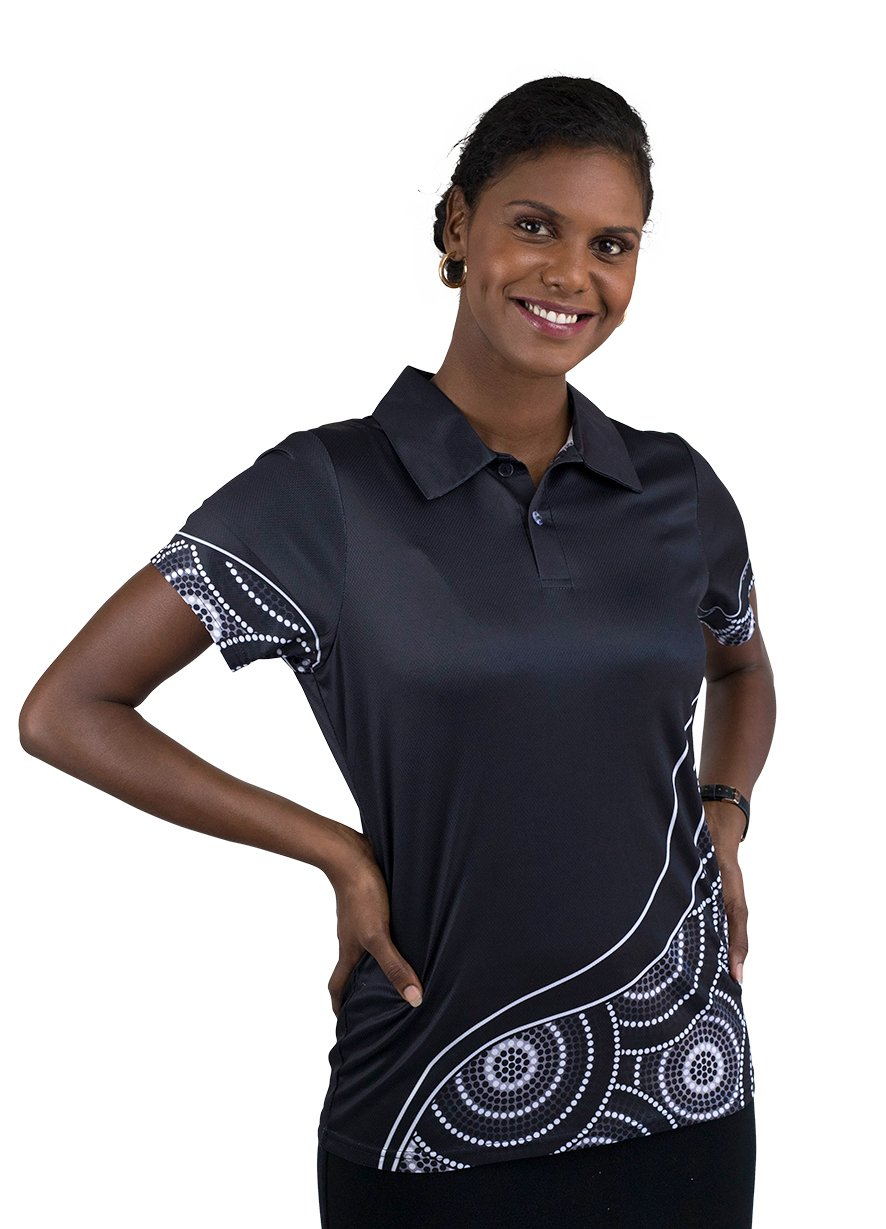 Womens Corporate Polo 24 - BW Tribal