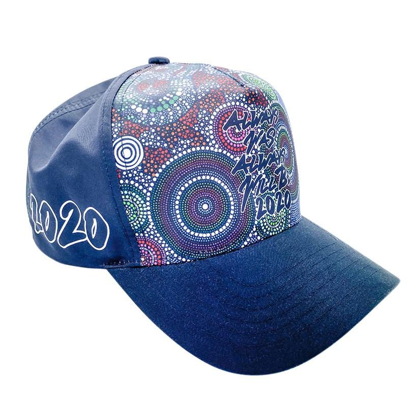 Wagual (Rainbow Serpent) Caps - BW Tribal