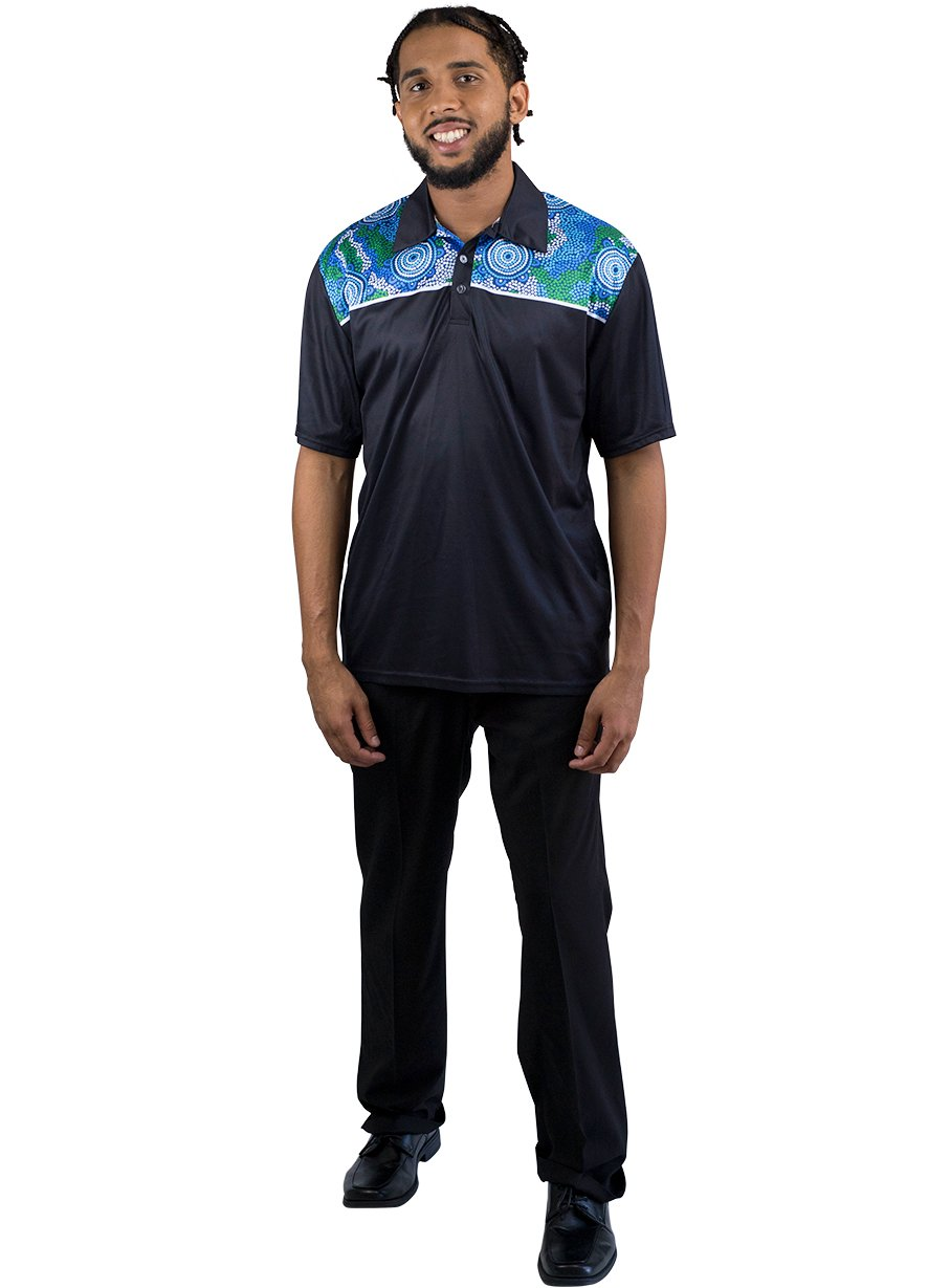 Mens Corporate Polo 17 - BW Tribal