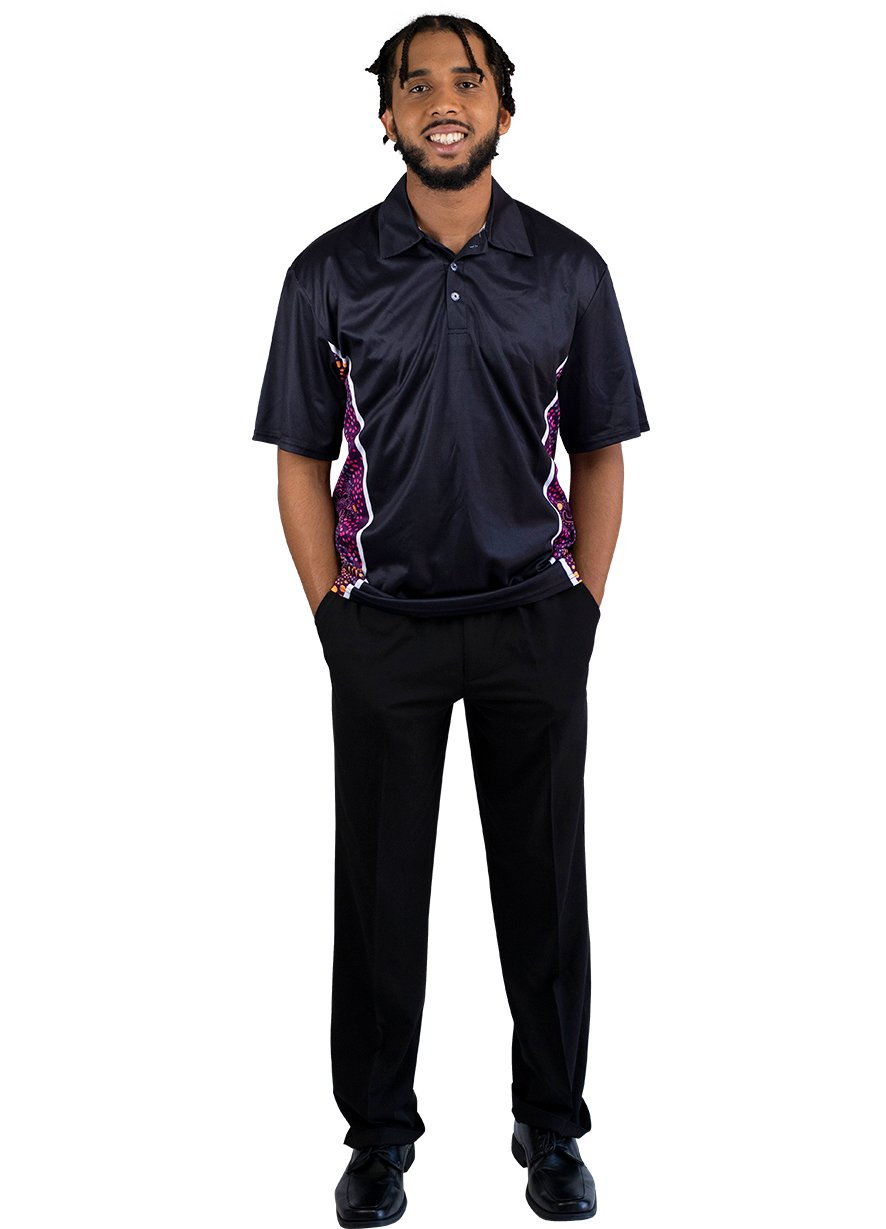 Mens Corporate Polo 18 - BW Tribal