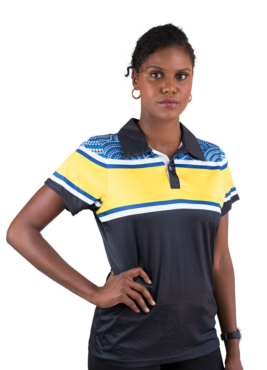 Womens Corporate Polo 27 - BW Tribal