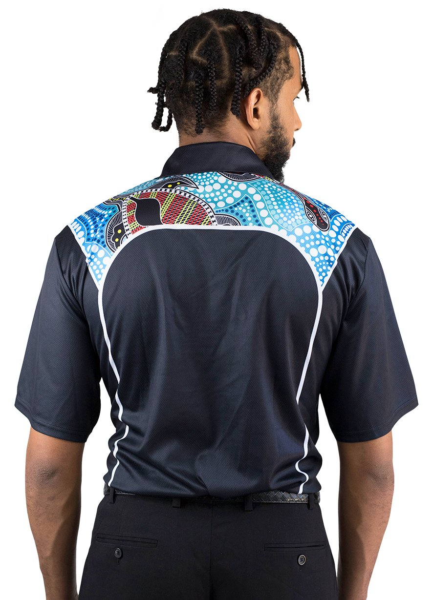 Mens Corporate Polo 1 - BW Tribal