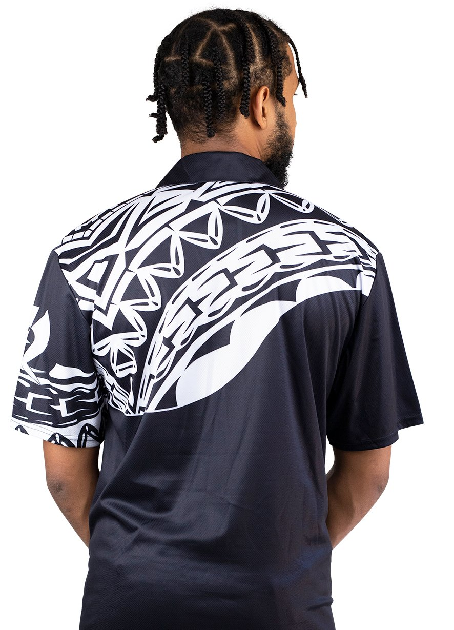 Mens Corporate Polo 15 - BW Tribal