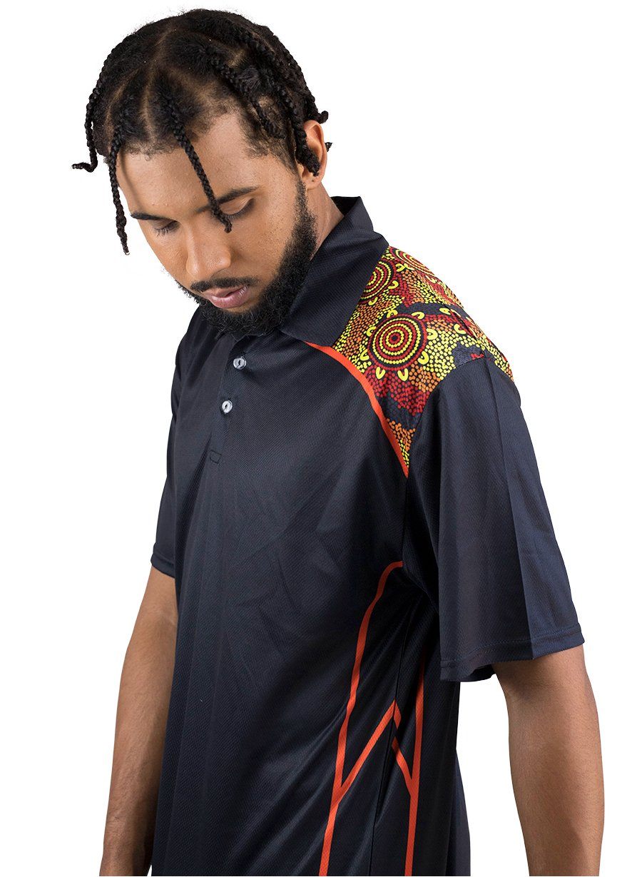 Mens Corporate Polo 14 - BW Tribal