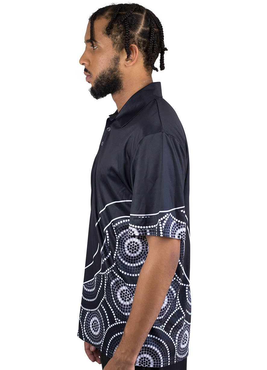 Mens Corporate Polo 25 - BW Tribal