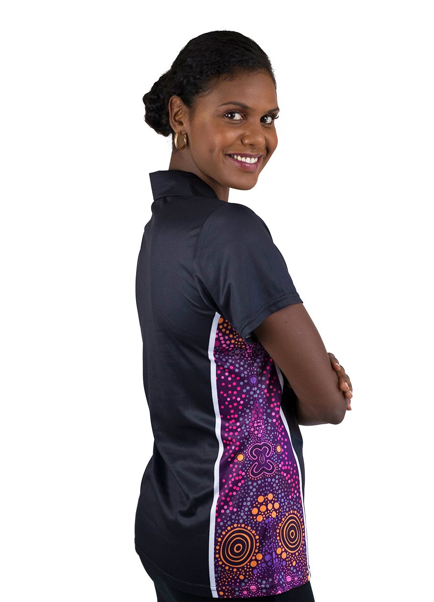 Womens Corporate Polo 18 - BW Tribal