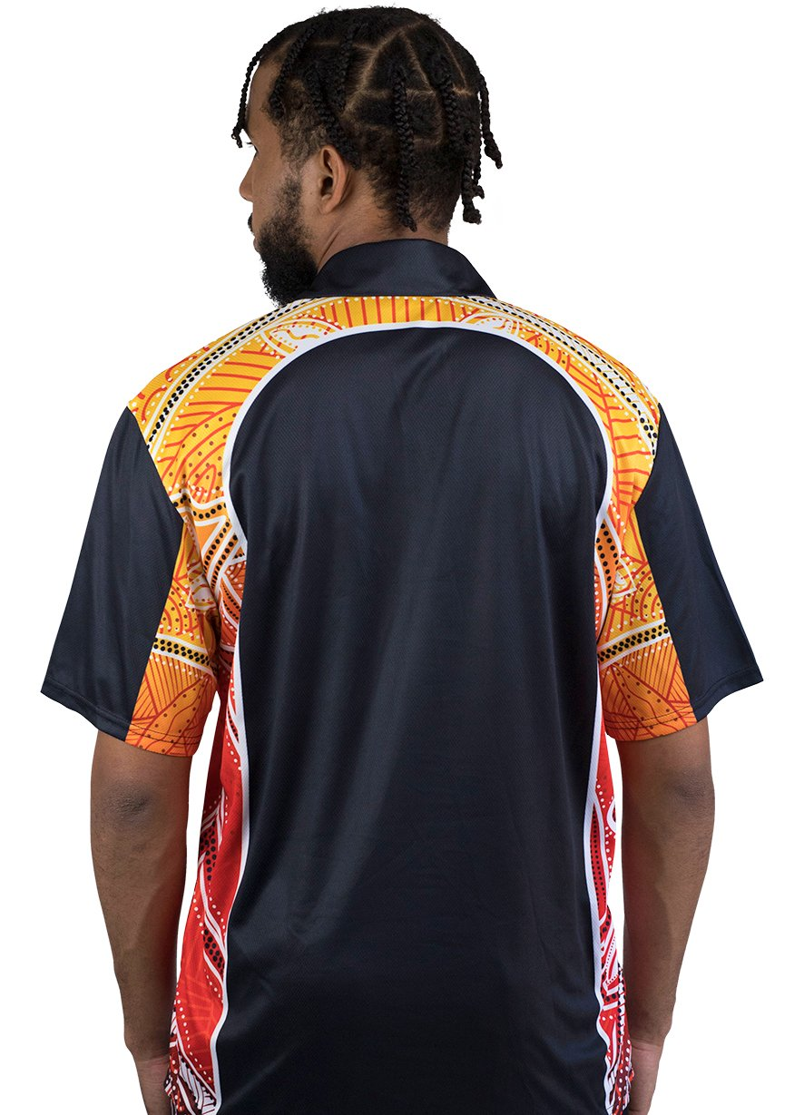 Mens Corporate Polo 6 - BW Tribal