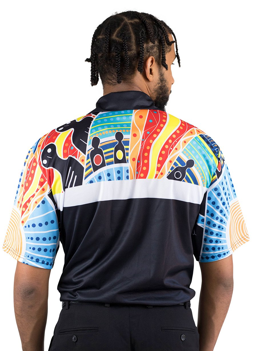 Mens Corporate Polo 7 - BW Tribal