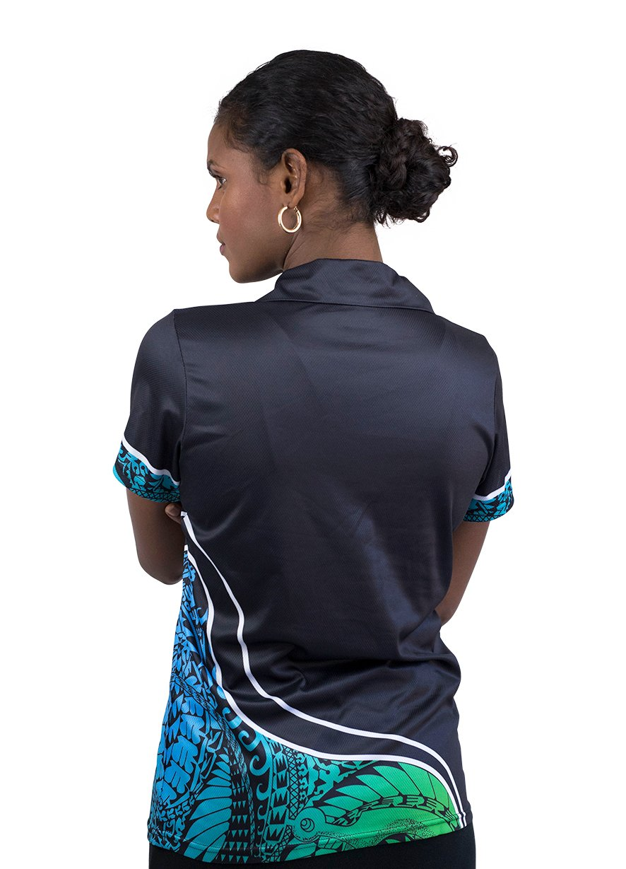 Womens Corporate Polo 10 - BW Tribal