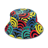 Mound Springs Bucket Hats Aboriginal by BW Tribal