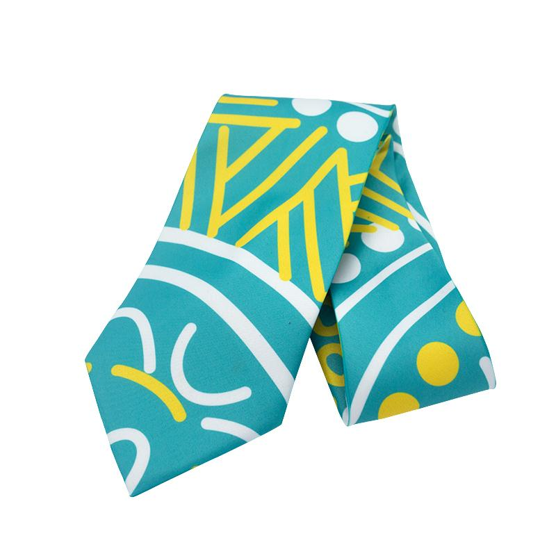 Grounded in Water Tie - BW Tribal