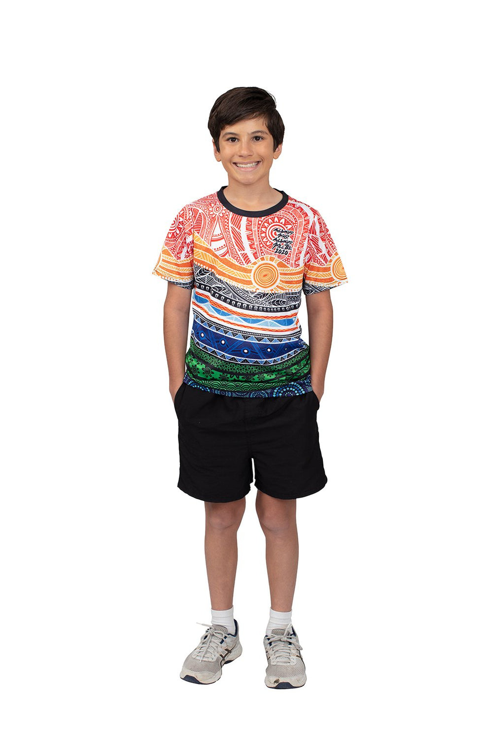 Spiritual Country Kid's T-Shirts - BW Tribal
