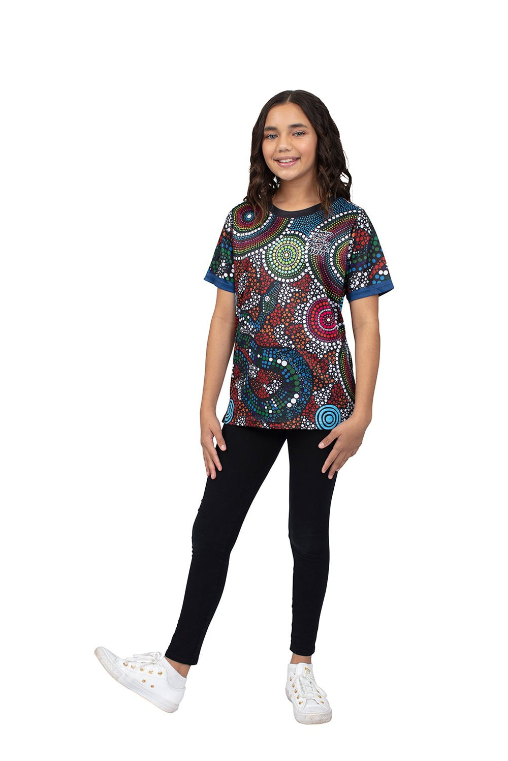Wagual (Rainbow Serpent) Kid's T-Shirts