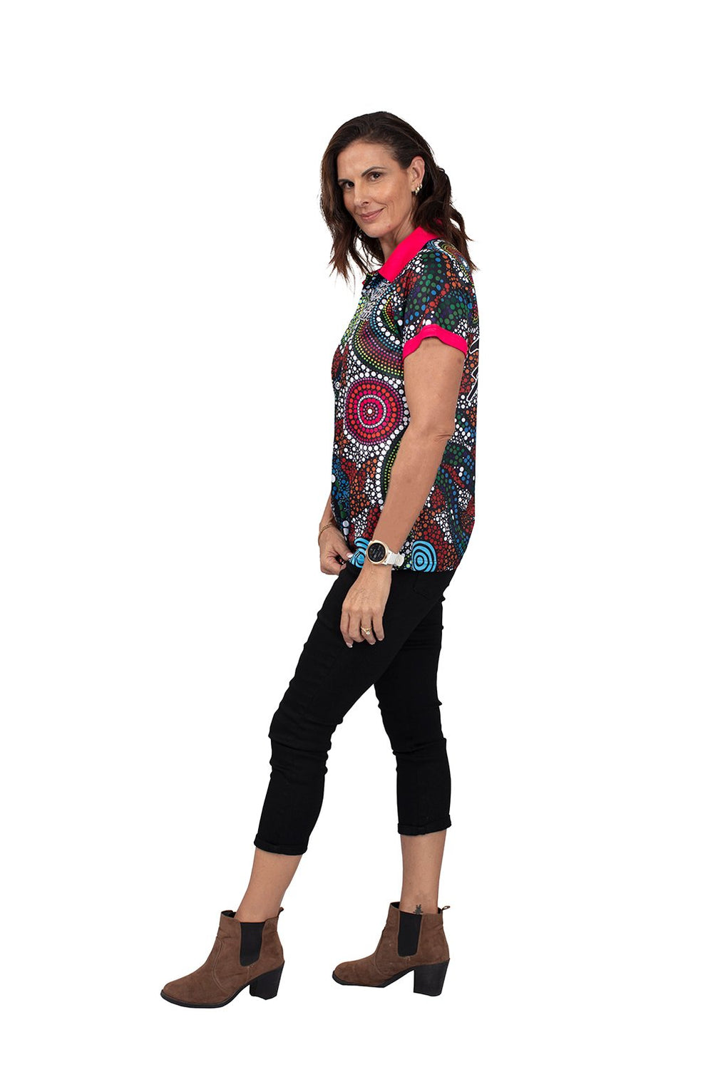 Wagual (Rainbow Serpent) Women's Polo
