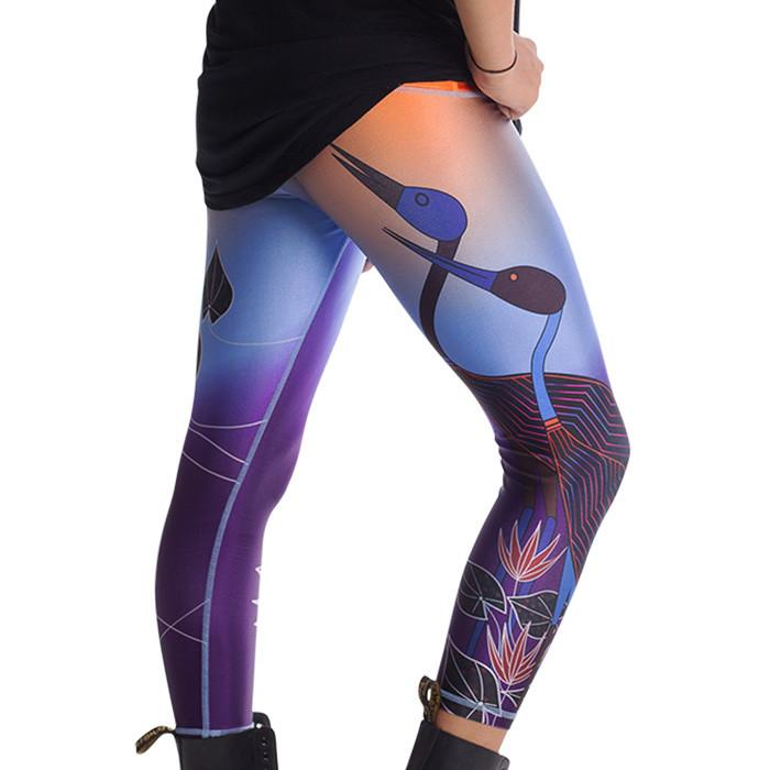 indigenous-aboriginal-womens-leggings-sunset
