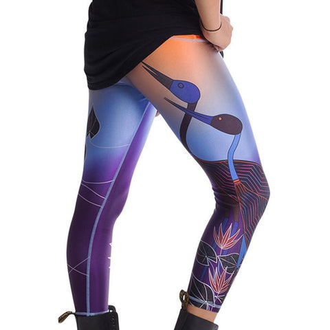 NEW Sunset Womens 3/4 Leggings