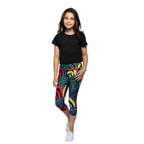 Instincts 3/4 Leggings