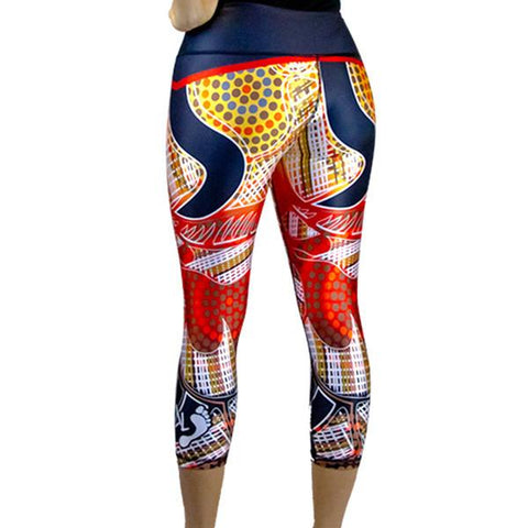 Rock Kangaroo 3/4 Leggings
