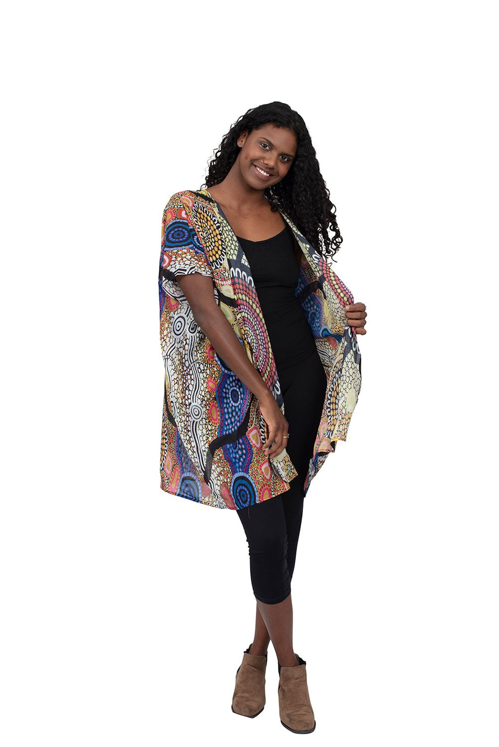 Yaliwunga Nguwa (Always Here) Kaftans - BW Tribal