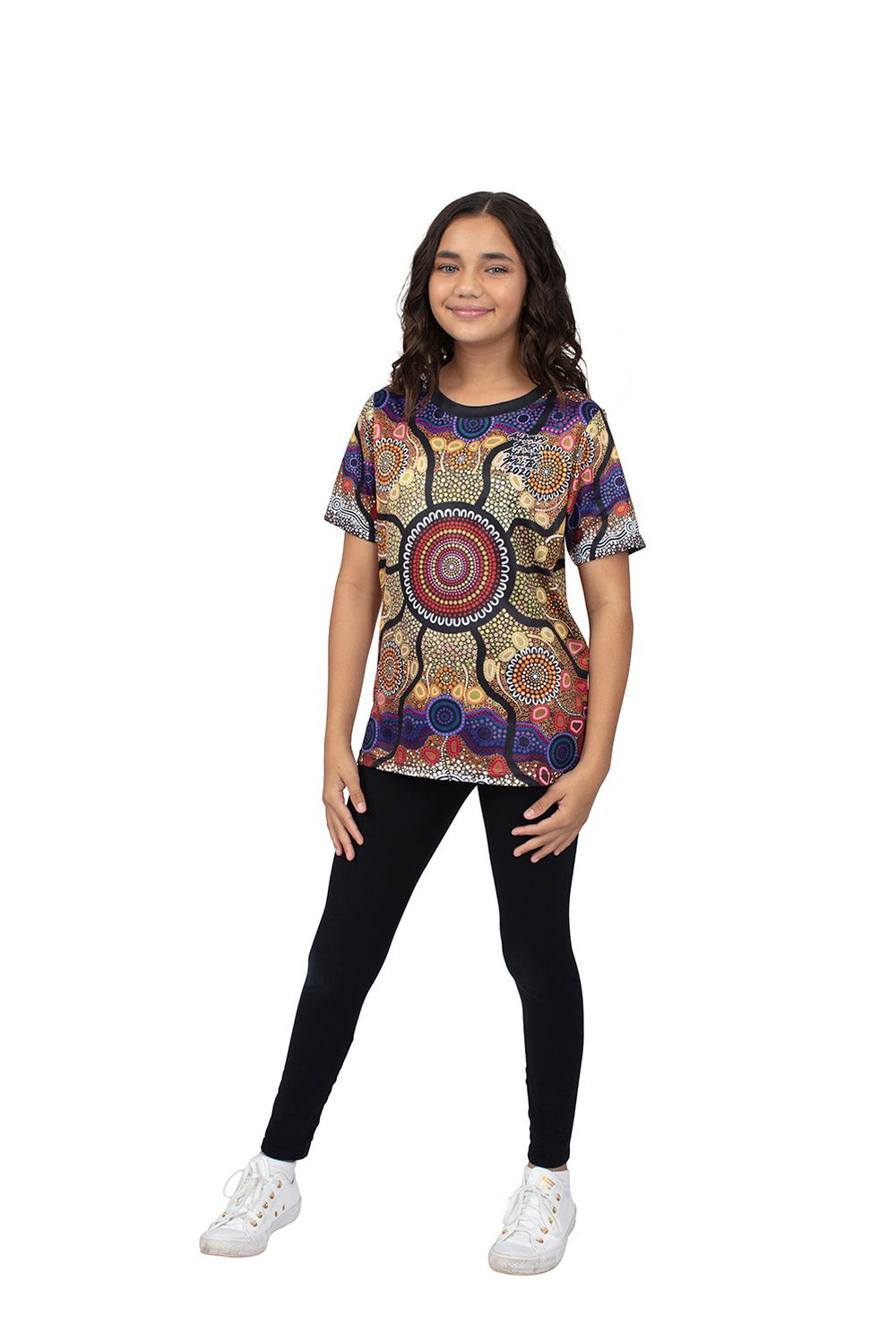 Yaliwunga Nguwa (Always Here) Kid's T-Shirts - BW Tribal
