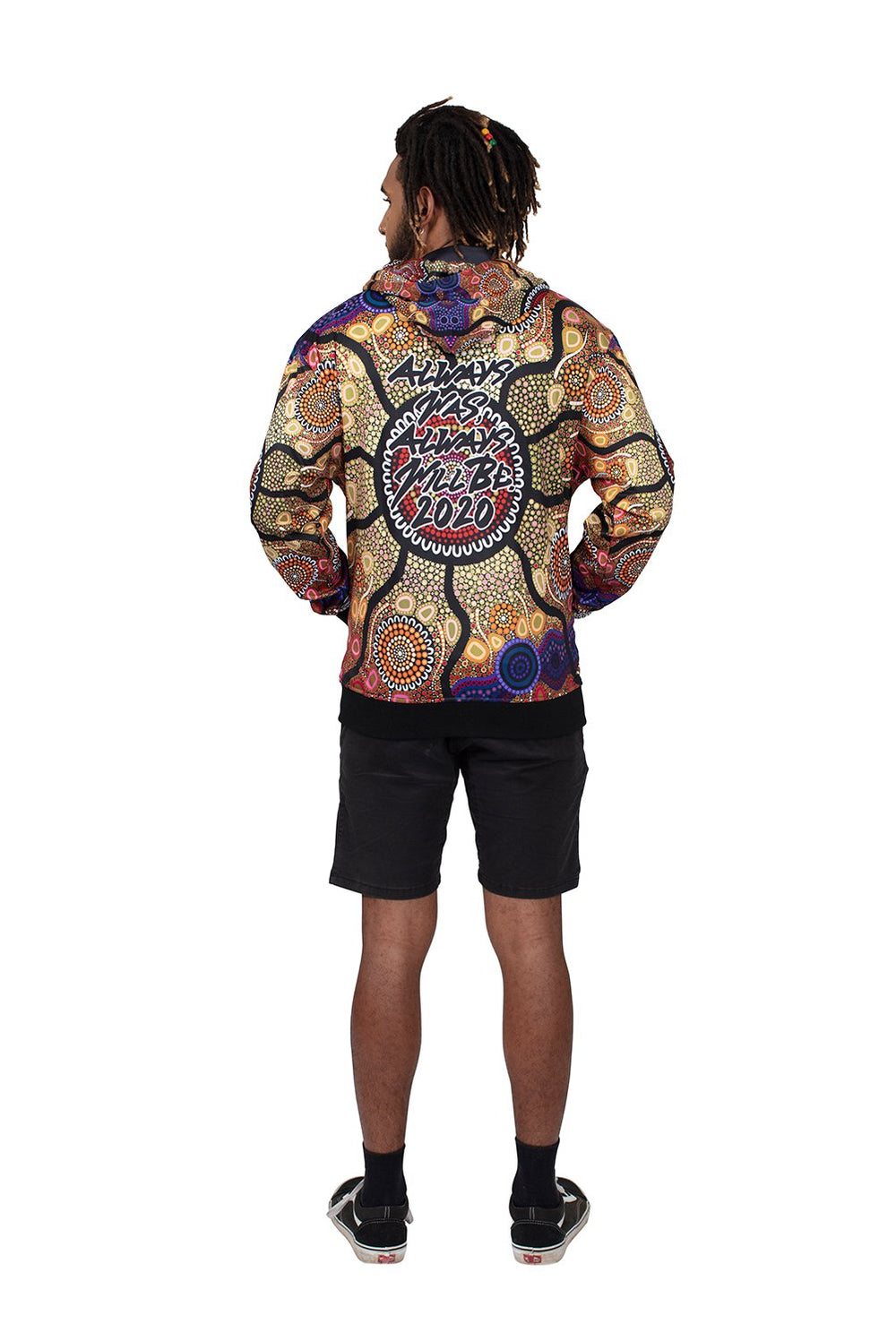 Yaliwunga Nguwa (Always Here) Men's Hoodies - NAIDOC 2020 - BW Tribal