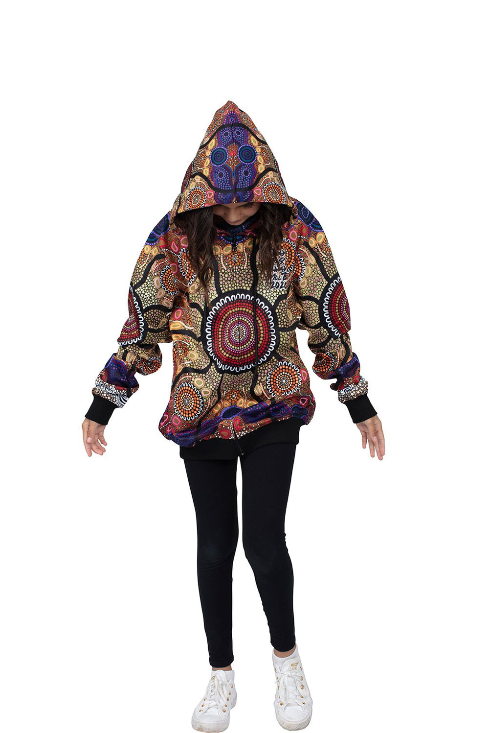 Yaliwunga Nguwa(Always Here) Women's Hoodies - NAIDOC 2020 - BW Tribal