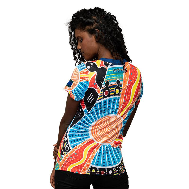 Two Parties Womens Shirt - BW Tribal