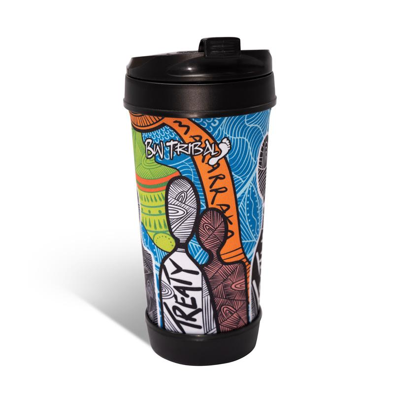 Aboriginal Art Travel Coffee Mug NAIDOC Week 2019 Makarrata