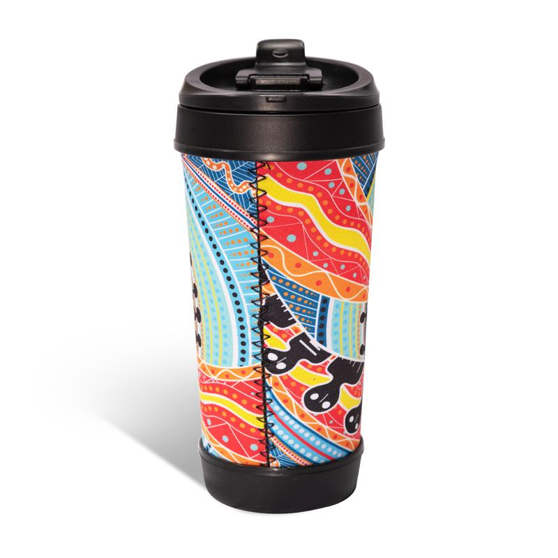 Two Parties Travel Mug - BW Tribal