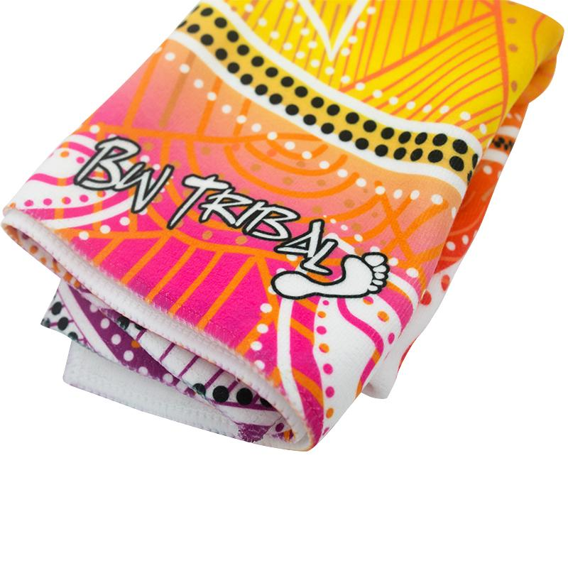 Pink Seashells Gym Towel - BW Tribal