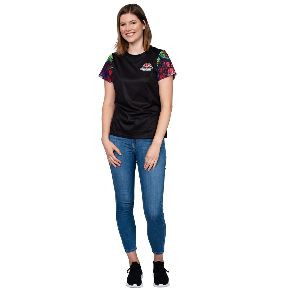 National Reconciliation Week Womens T-Shirt - BW Tribal