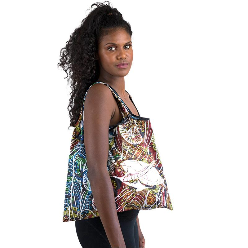 Tribute Foldable Reusable Bag - BW Tribal