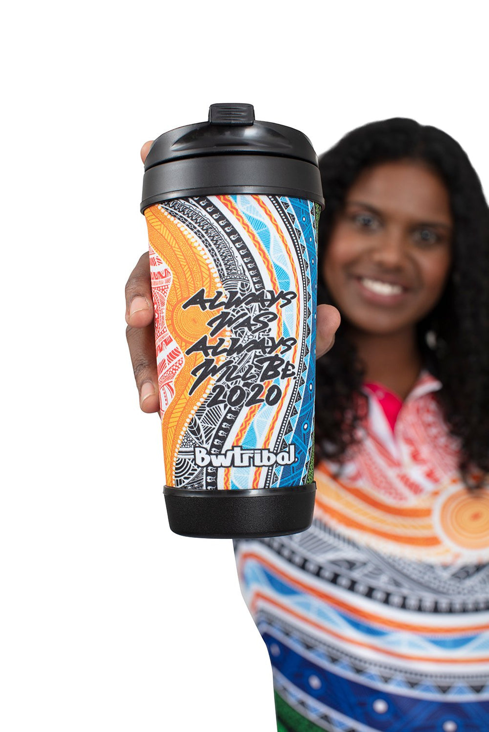 Spiritual Country Travel Mug - BW Tribal