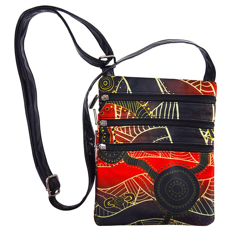 Waterholes Shoulder Bag - BW Tribal