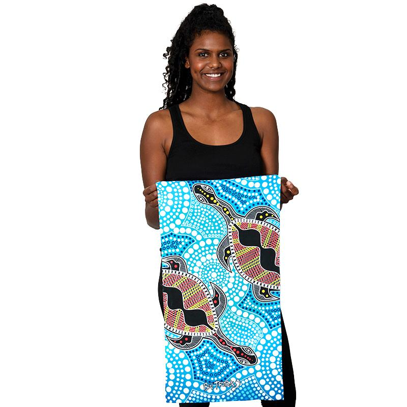 Yakans Gym Towel - BW Tribal