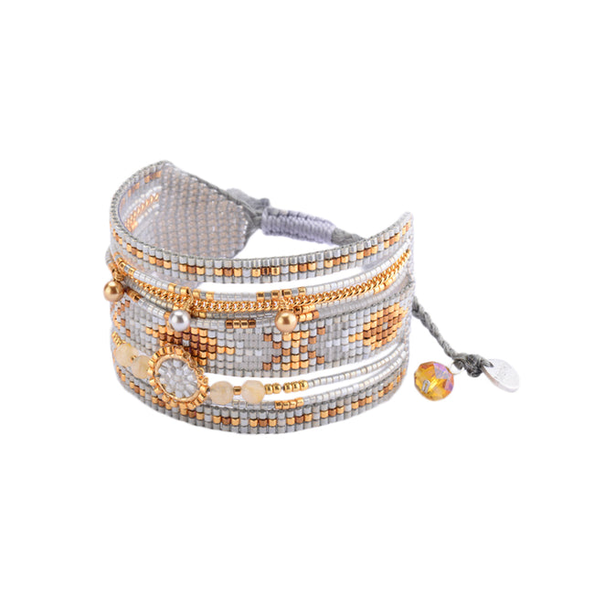 Coloured Chain Cuff Medly Be 2943
