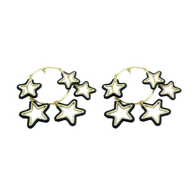 Night Earring GP M 6462