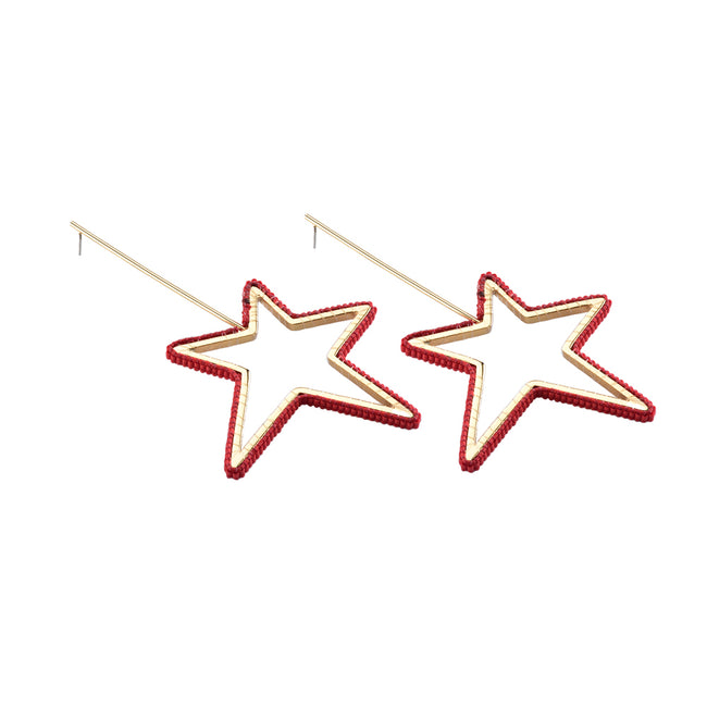 Star Earring GP XL 6463