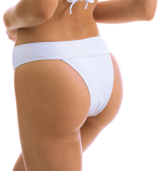 Bottom Cloque Branco Tri Cos