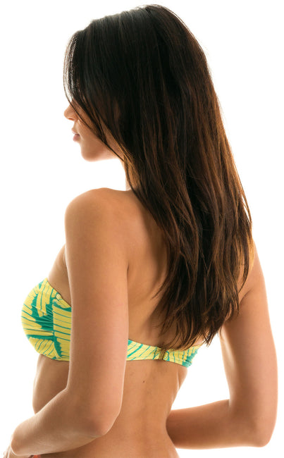 Top Banana Yellow Bandeau