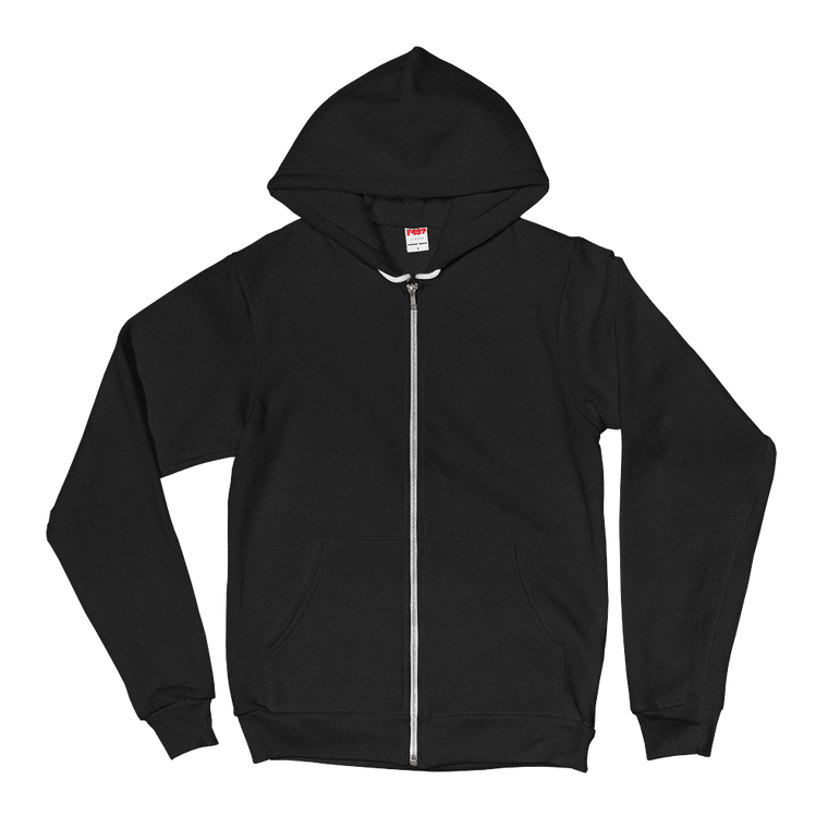 Black / XS Animal Planet Full Zip Hoodie